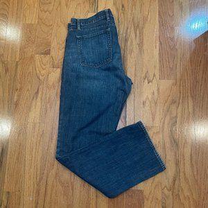 GAP Straight Fit Jeans 38 x 34 Men's 100% Cotton
